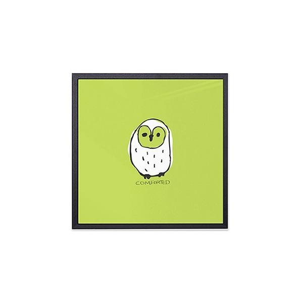 アート ポスター インテリア デザイン おしゃれなアートフレーム おしゃれ 額縁 高級感 北欧 モダン アルミ製フレーム付 ほうほう友達 277×277|sangsanghoo-jp|04