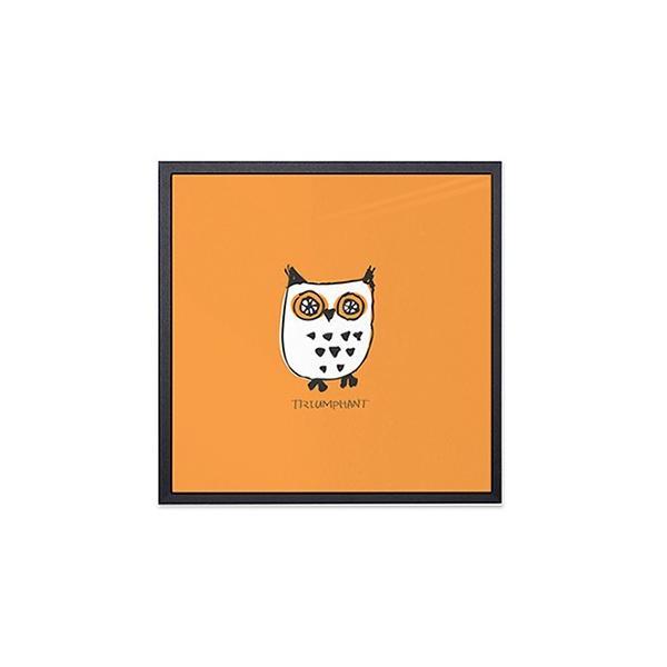 アート ポスター インテリア デザイン おしゃれなアートフレーム おしゃれ 額縁 高級感 北欧 モダン アルミ製フレーム付 ほうほう友達 277×277|sangsanghoo-jp|06