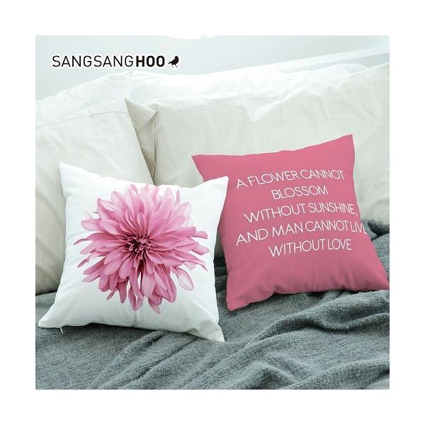 クッションカバー おしゃれ 洗える 北欧 45×45cm クッション ピンク グレー 北欧 ピンクコレクション|sangsanghoo-jp|04