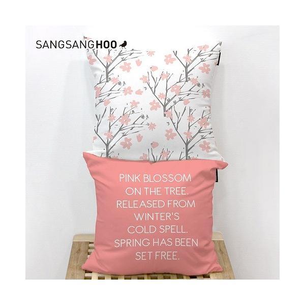 クッションカバー おしゃれ 洗える 北欧 45×45cm クッション ピンク グレー 北欧 ピンクコレクション|sangsanghoo-jp|06