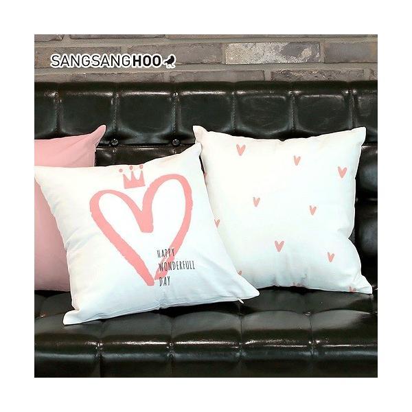 クッションカバー おしゃれ 洗える 北欧 45×45cm クッション ピンク グレー 北欧 ピンクコレクション|sangsanghoo-jp|08