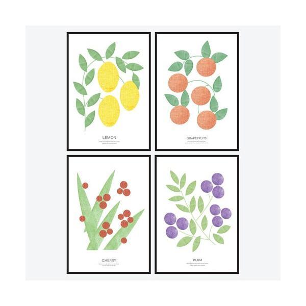 ポスター アートポスター おしゃれ インテリアポスター フォトポスター A3 4枚セット北欧 モダン 植物 選べる12種類 29.7x42cm フレームなし|sangsanghoo-jp|06