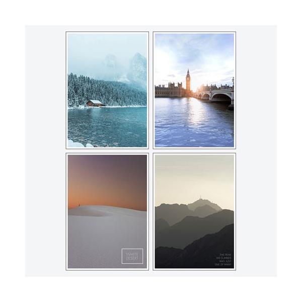 ポスター アートポスター おしゃれ インテリアポスター フォトポスター A3 4枚セット北欧 モダン 植物 選べる12種類 29.7x42cm フレームなし|sangsanghoo-jp|08