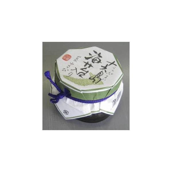 海苔の佃煮 十六島海苔(うっぷるいのり)入り 茎わさび 130g×2個 キンヤ