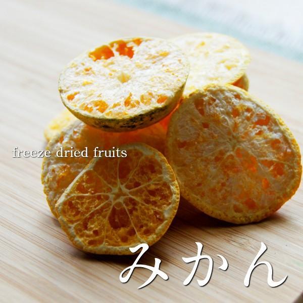 フリーズドライ ドライみかん 砂糖不使用 無添加 国産 ドライフルーツ|sanko-hc