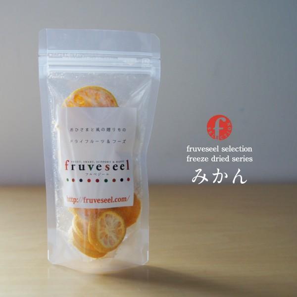 フリーズドライ ドライみかん 砂糖不使用 無添加 国産 ドライフルーツ|sanko-hc|02