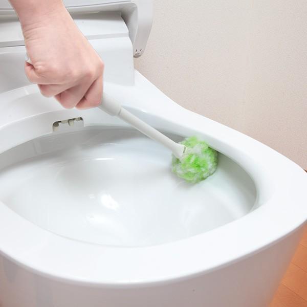 トイレブラシ おしゃれ 人気 清潔 掃除 びっくりフレッシュ サンコー クリーナー 日本製 取り替え用|sanko-online|05