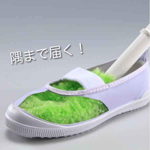 ピカピカシューズクリーナー 靴洗いブラシ 生地を痛めにくい びっくりフレッシュ サンコー|sanko-online|04