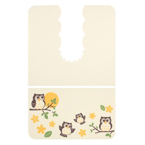 トイレマット おしゃれ ネコ ふける 撥水 洗濯 ロング 日本製 おくなが 洗える おくだけ吸着 サンコー ずれない 消臭|sanko-online|11