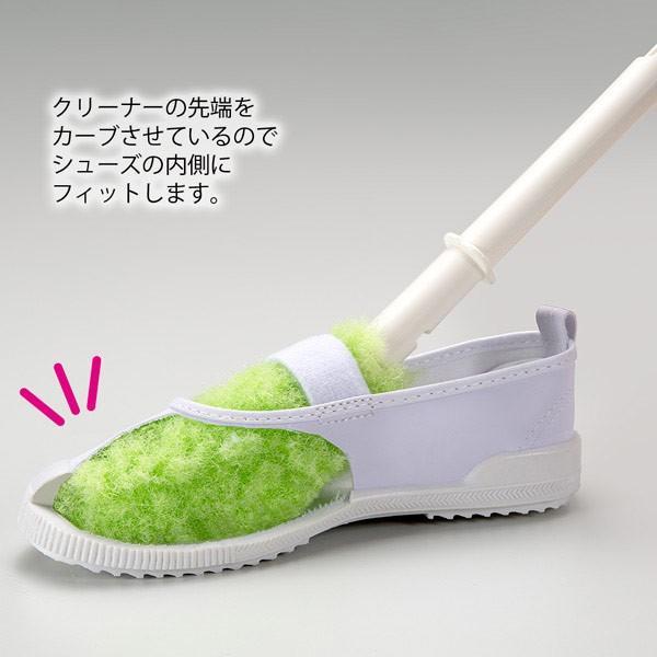 靴洗いブラシ びっくりシューズ洗い 上履き くつ 運動靴 スニーカー 上靴 子供 洗剤なし 水だけ 日本製 びっくりフレッシュ サンコー|sanko-online|04