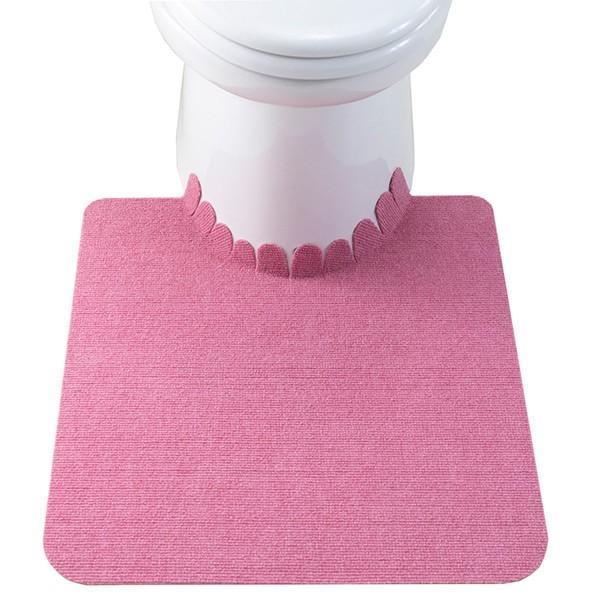 トイレマット ずれない 滑り止め おしゃれ 洗える 洗濯 消臭 無地 日本製 おくだけ吸着 55×60cm サンコー|sanko-online|13