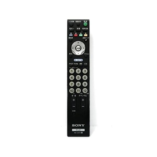 SONY純正テレビリモコン RM-JD015