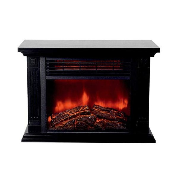 暖炉型ファンヒーター HD-100BK