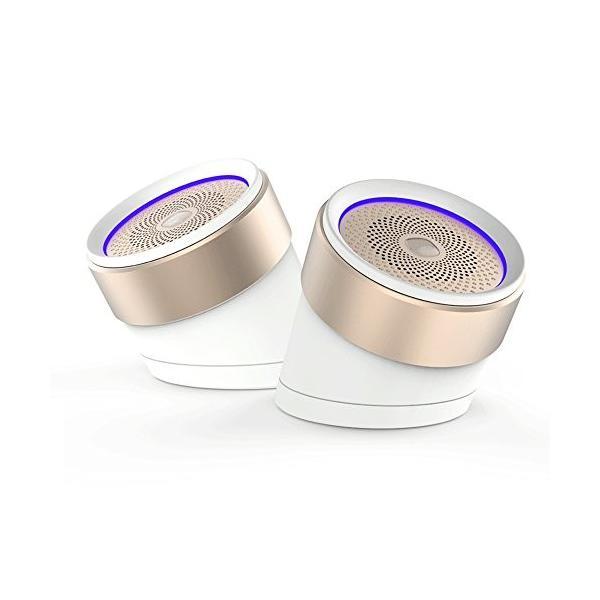 QCY Bluetooth 4.2 2WAYステレオスピーカー Box1 TWS対応 ホワイト 国内正規品 QCY-BOX1WH