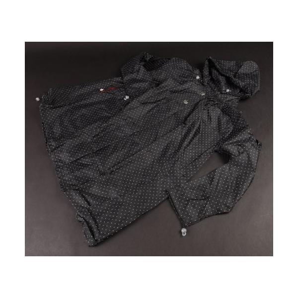 オリーブ デ オリーブ ブランドバルーンタイプ 全7色 レインコート ドット/ブラック フリー 収納袋付き 70775 [正規代理店品]|sanmaruroku|02