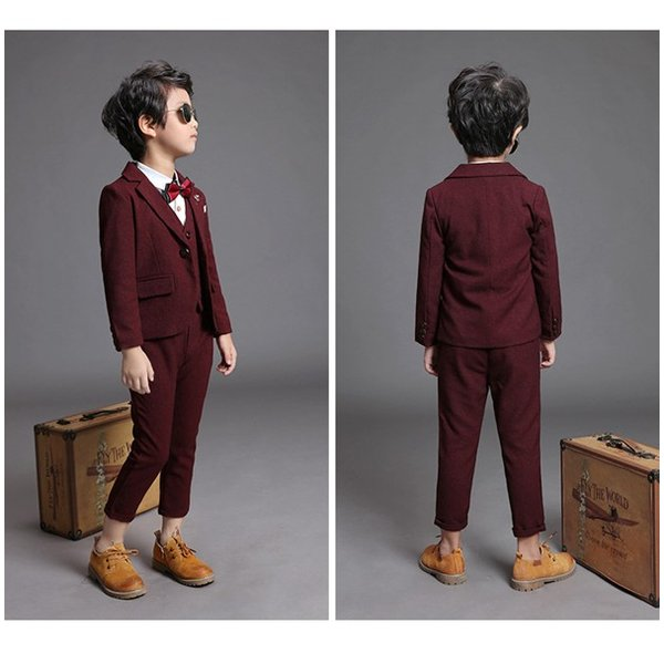 fec3d774bb601 ... 即納♪子供スーツ 4点セット 入学式 入園式 子供服 男の子 こどもスーツ ...