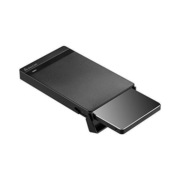 Salcar USB3.0 2.5インチ HDD/SSDケース sata接続 9.5mm/7mm厚両対応 UASP対応 簡単脱着 5Gbps|sanosyoten