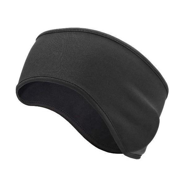 耳あてイヤーウォーマー防寒防風頭が蒸れない暖かい超軽量サイクリングランニング耳当て伸縮性に優れ男女兼用ブラック定番
