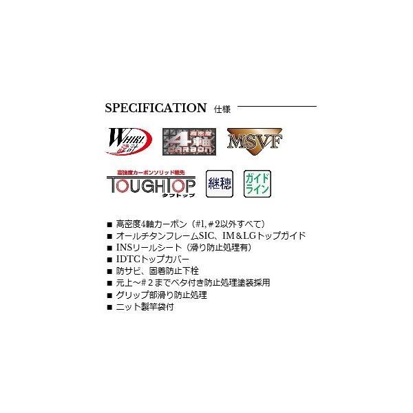 宇崎日新(NISSIN) 磯竿 ZEROSUM 磯 X4 KEI 1.25号 5.3m     (NS2017)    【竿】  【ISO】