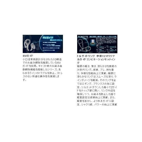 """宇崎日新(NISSIN)  エギングロッド DREAMS 夢墨 TORZITE RV  DRYT-RV806 スローテーパー 8'6""""/2.59    【竿】"""
