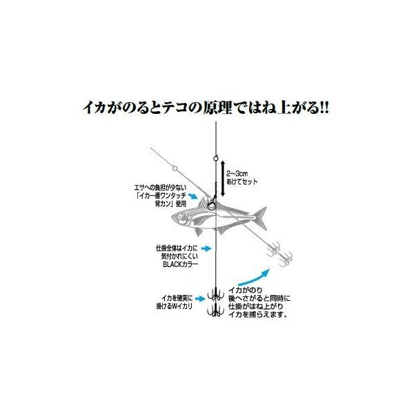 【5枚セット】カツイチ(KATSUICHI) アオリイカ仕掛け イカキャッチャーII IS-12 (サイズ LL)