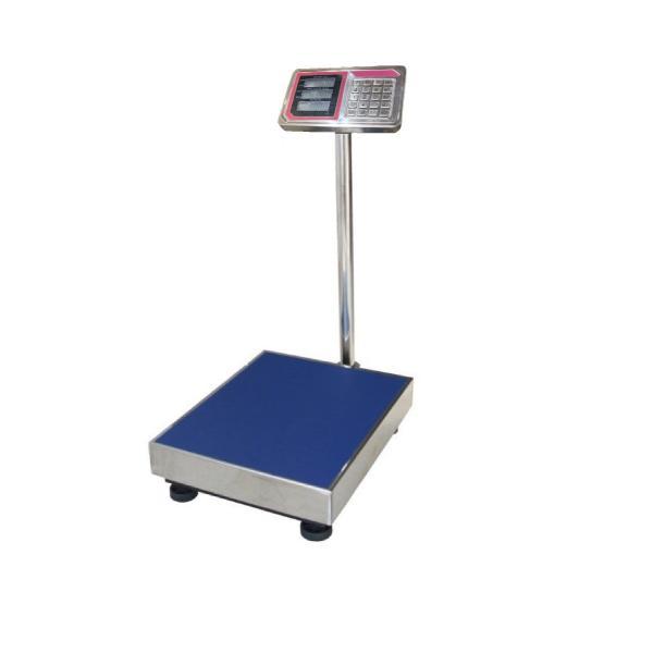 防水・防塵デジタル台はかり(一体型)ステンレストレー付充電式 100kg/20g