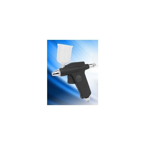 エアーブラシセット ノズル0.3、0.5mm 上カップ大容量15cc 【三方良し】 エアーホース付 下地使用おすすめ