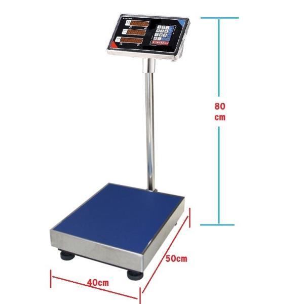 おすすめ 防水・防塵デジタル台はかり(一体型) ステンレストレー付 充電式200kg/50g