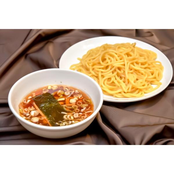 つけ麺 山梨「中華レストランさんぷく」の つけそば 大盛 3食入り ご当地ラーメン 太麺 さっぱりスープ 具付き 冷蔵生麺 生ラーメン お取り寄せ|sanpuku-honten|03