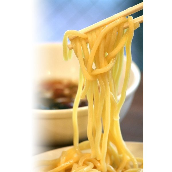 つけ麺 山梨「中華レストランさんぷく」の つけそば 大盛 3食入り ご当地ラーメン 太麺 さっぱりスープ 具付き 冷蔵生麺 生ラーメン お取り寄せ|sanpuku-honten|06