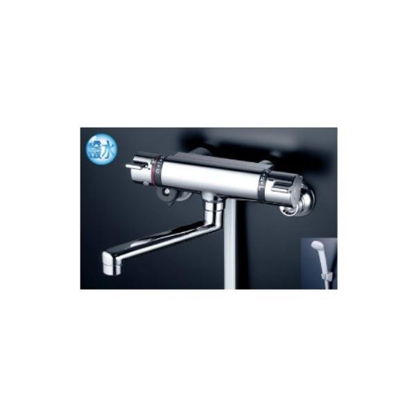 KVK撥水膜コーティングサーモシャワー水栓KF800WTHS寒冷地対応品お掃除ラクラク