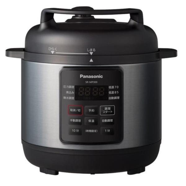 Panasonic電気圧力鍋SR-MP300-K