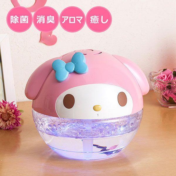 マイメロディ フェイス形空気洗浄機 sanrio