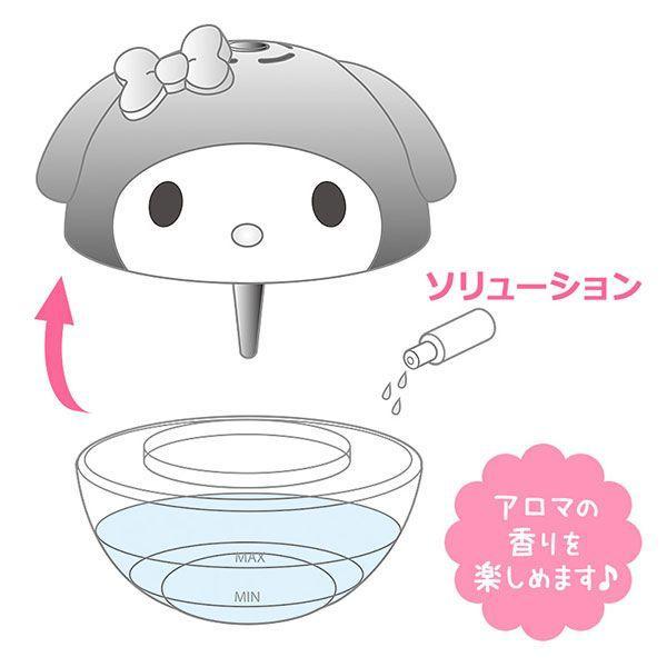 マイメロディ フェイス形空気洗浄機 sanrio 05