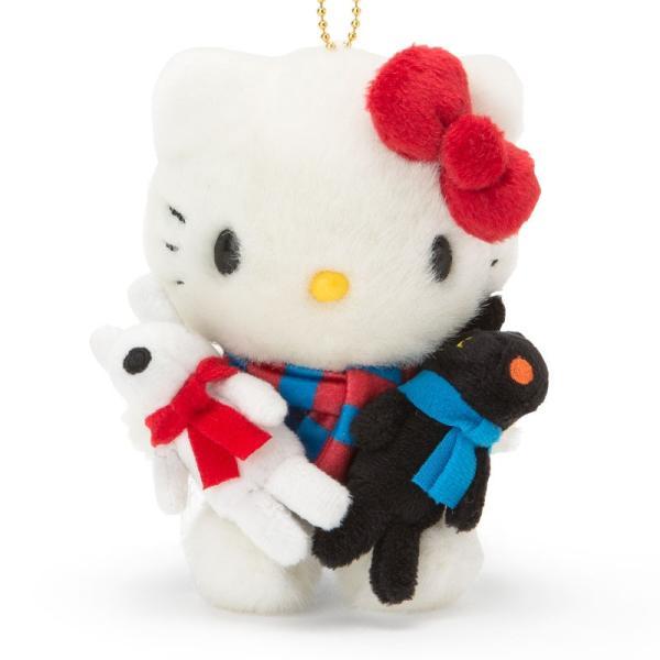 リサとガスパール×ハローキティ マスコットホルダー(キティ)
