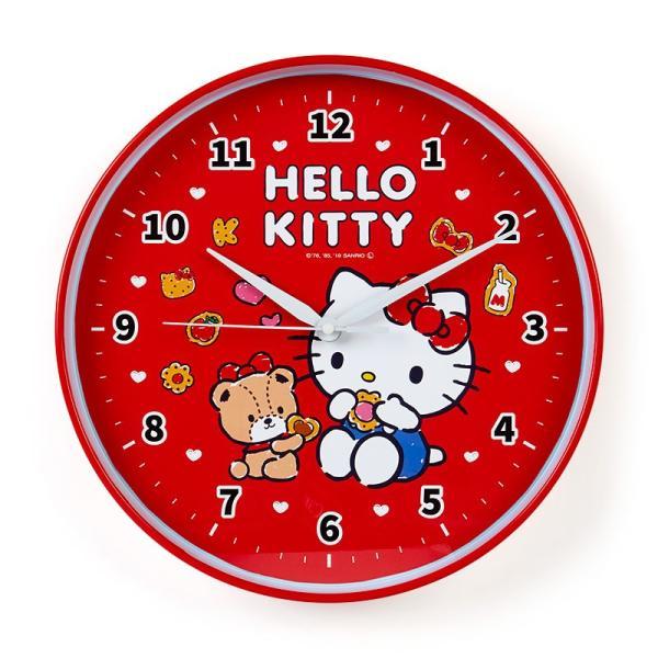 ハローキティ 壁掛け時計 sanrio