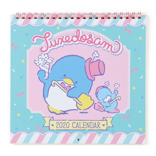 タキシードサム ウォールカレンダーM 2020|sanrio