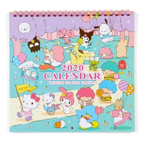 サンリオキャラクターズ ウォールカレンダーM(リボン) 2020|sanrio