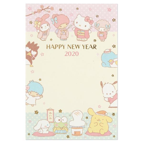 サンリオキャラクターズ 年賀カード2020 3枚入り×5パックセット|sanrio|03