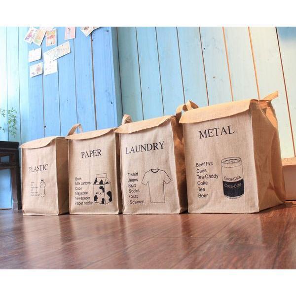 分別ごみ箱 ゴミ箱 収納ケース 収納ボックス 防水加工ボックス 防水加工ケース 折りたたみ収納ケース インテリア収納 収納 ボックス ケース|sansanya|02