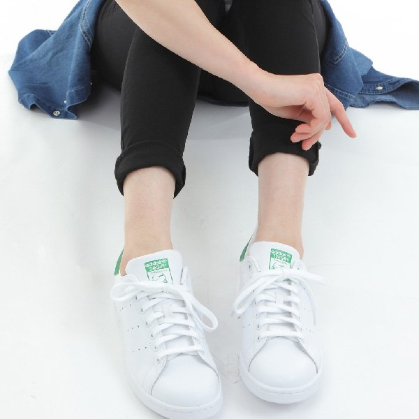アディダス スタンスミス スニーカー メンズ レディース ホワイト グリーン adidas STAN SMITH シューズ 靴 M20324|sansei-s-style|10