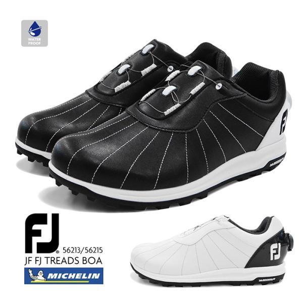 FootJoyFJフットジョイTREADSBOAトレッドゴルフメンズ男性紳士スパイクレス靴防水スニーカーダイヤルシューズ5621