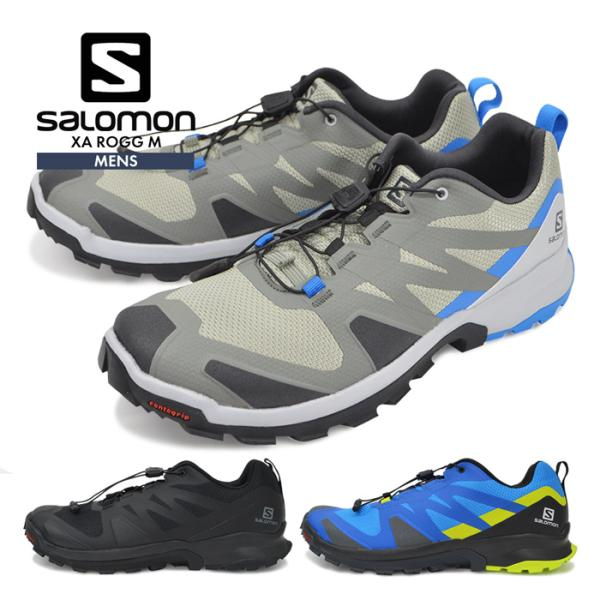 サロモンシューズメンズ靴SALOMON登山靴トレッキングアウトドアスニーカーXAROGGキャンプトレイルランニングハイキング