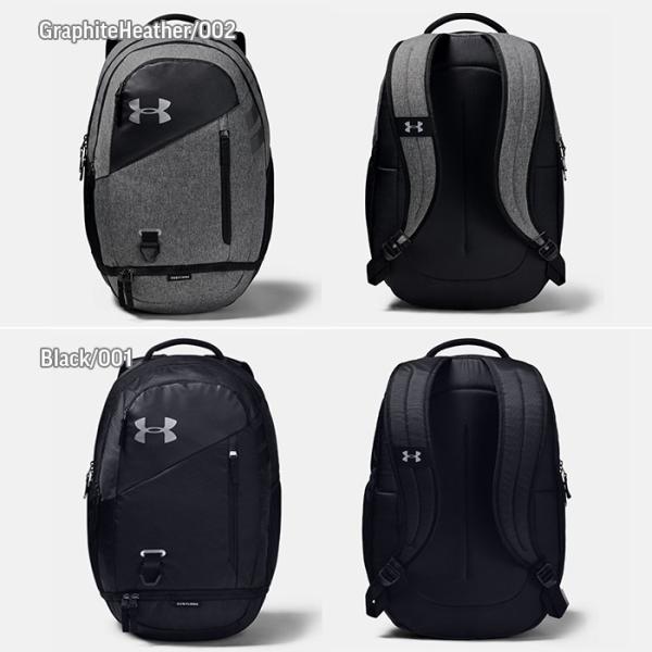 アンダーアーマー UNDER ARMOUR スポーツバッグ メンズ レディース バックパック リュック HUSTLE 4.0 1342651 男女兼用|sansei-s-style|02