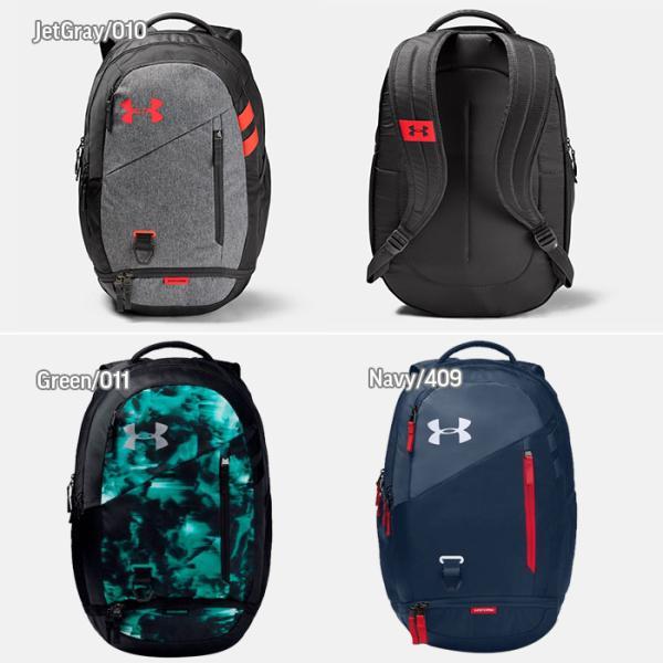アンダーアーマー UNDER ARMOUR スポーツバッグ メンズ レディース バックパック リュック HUSTLE 4.0 1342651 男女兼用|sansei-s-style|03