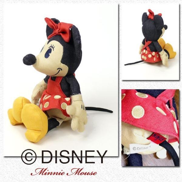 EDWIN Disney デニム ミニーマウス ぬいぐるみ QNAK10|sanshin|02