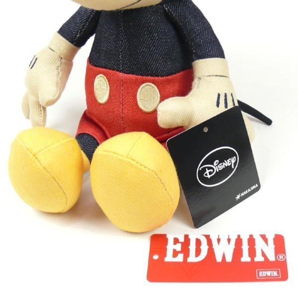 EDWIN Disney デニム ミニーマウス ぬいぐるみ QNAK10|sanshin|03