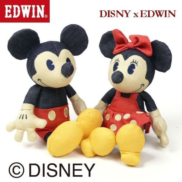 EDWIN Disney デニム ミニーマウス ぬいぐるみ QNAK10|sanshin|04