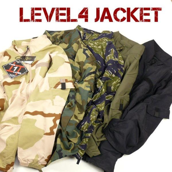 HOUSTON ヒューストン メンズ ミリタリージャケット LEVEL4 JACKET ナイロン ウインドブレーカー 春物 送料無料 50667|sanshin|02