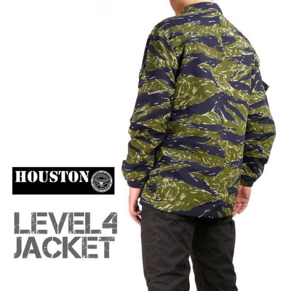 HOUSTON ヒューストン メンズ ミリタリージャケット LEVEL4 JACKET ナイロン ウインドブレーカー 春物 送料無料 50667|sanshin|12
